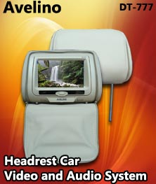 tv headrest avelino-dt-777