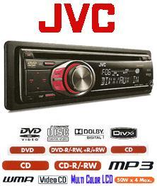 Head Unit DVD Mobil JVC-KD-DV-4506