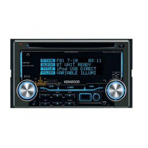 double din cd kenwood-ddx-mp-6110u