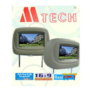 headrest monitor m-tech-7020