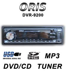 ORIS-DVR-9200 - DVD Mobil Player - Head Unit mobil DVD -Single Din DVD