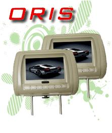 headrest monitor oris-mtp-7100