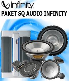 PAKET AUDIO INFINITY