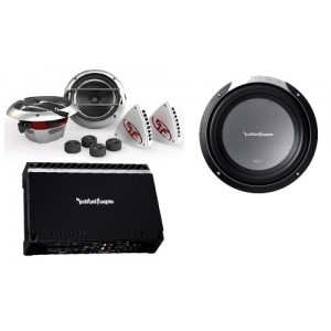 PAKET AUDIO ROCKFORD FOSGATE