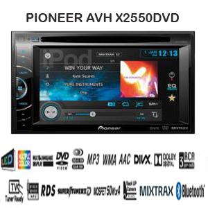 PIONEER AVH-X2550DVD