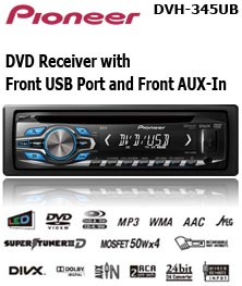 Head Unit DVD mobil Pioneer-dvh-345