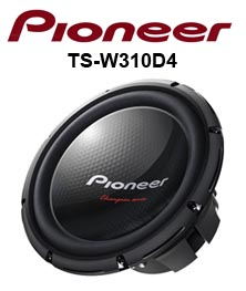 subwoofer pioneer ts-w310d4