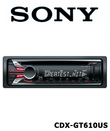 cd mobil player sony-cdx-gt610us