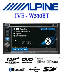 Alpine Ive W 530ebt Tv Mobil Dvd Tv Double Din Head Unit Tv Mobil