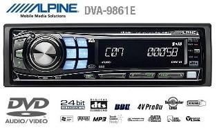 dvd mobil alpine dva-9861e