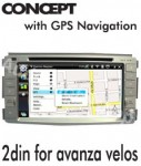 DOUBLE DIN GPS AVANZA VELOZ