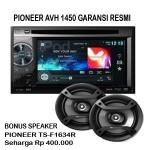 Pioneer AVH 1450DVD Garansi Resmi