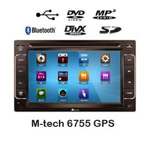 TV mobil GPS M-Tech-6755 GPS
