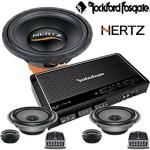 Paket audio Hertz dan Rockford
