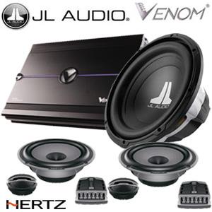 Paket audio JL Audio dan Venom