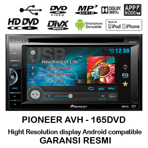 Pioneer Avh 165dvd Head Unit Tv Mobil 2 Din Android Pioneer