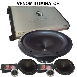 Audio mobil Venom iluminator