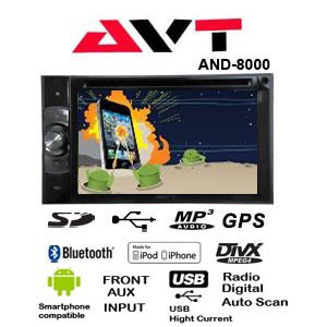 Double Din Android-AVT-AND-8000