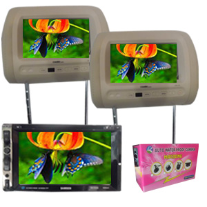 paket TV Headrest monitor