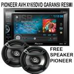 Pioneer AVH X165DVD Free Speaker