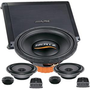 Hertz audio mobil sistem