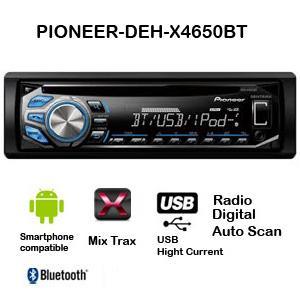 Pioneer DEH-X4650BT