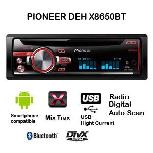 Pioneer DEH X8650BT