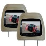 TV Headrest monitor DVD mobil untuk video mobil