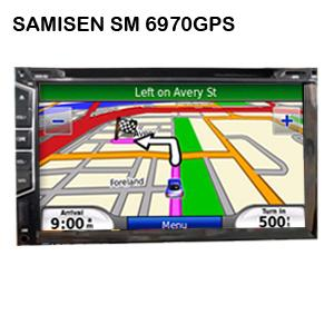 head unit gps samisen 6970gps