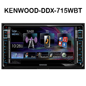 head unit kenwood-ddx-715wbt