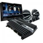 Fungsi TV Double Din power speaker audio mobil sistem