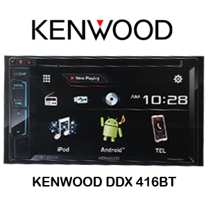 KENWOOD DDX 416BT