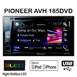 PIONEER AVH-185DVD