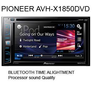 PIONEER AVH X1850DVD