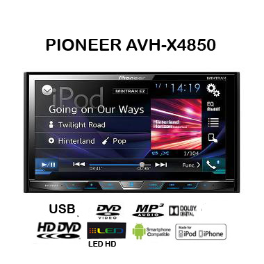 PIONEER AVH X4850 DVD
