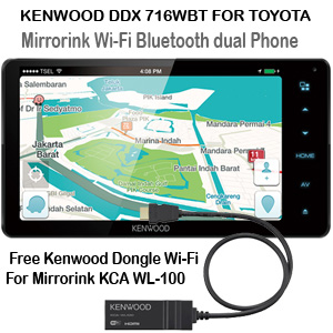 Kenwood DDX 716WBT for Toyota