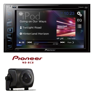 head unit pioneer-avh-195dvd
