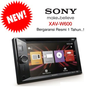 head unit-sony XAV-W600