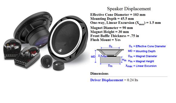 spesifikasi speaker mobil