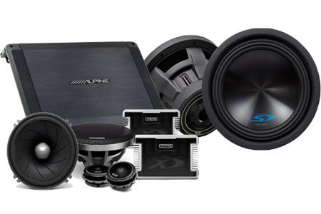 Amplifier untuk Subwoofer Audio Mobil