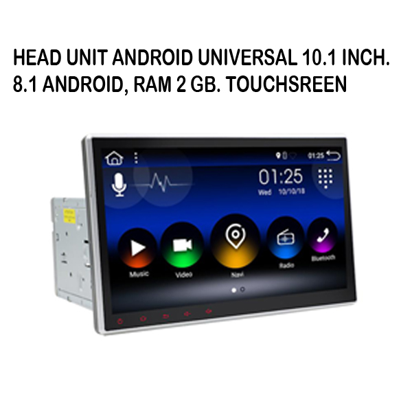 Head Unit 2 DIN Android 10.1