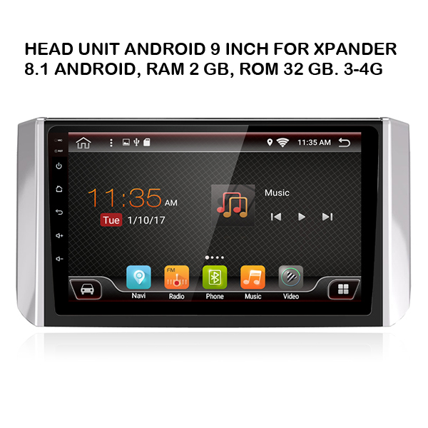 head unit android Mitshubishi xpander