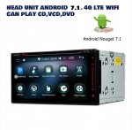 Head Unit DVD player Android 7.1.