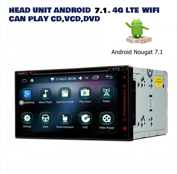 head unit dvd android