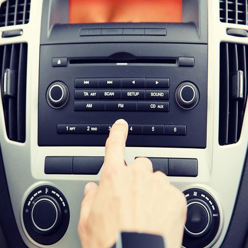 audio standar mobil